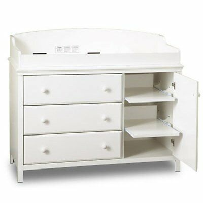 South Shore Cotton Candy 3 Drawer Changing Table