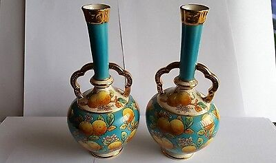 Pair of  Late 19th Century Old Hall Vases - Christopher Dresser Design