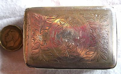 1804 Georgian Snuff Box Sterling Silver Cocks & Bettridge English Birmingham #4