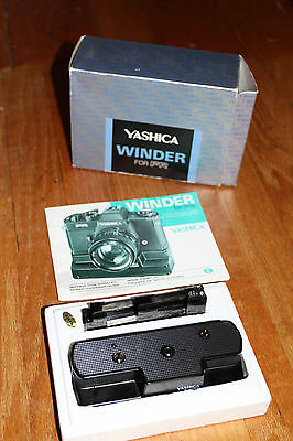 Yashica Winder FR For Contax RTS in the box + instructions! works!