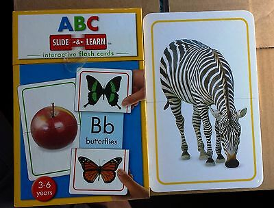 ABC: Interactive Flash Cards, 3-6 Years (Slide & Learn)