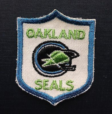 Vintage OAKLAND (California Golden) SEALS NHL Hockey Patch Late 1960's