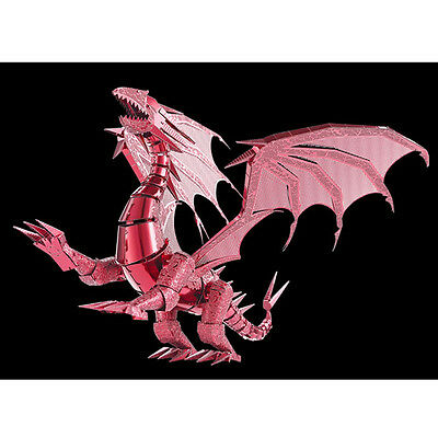 Piececool Dragon Flame Metal Puzzles DIY 3D Brain Teaser  Difficulfy Level