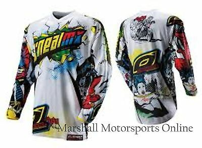 Oneal racing motorbike bmx jersey villain boys youth size SMALL YS