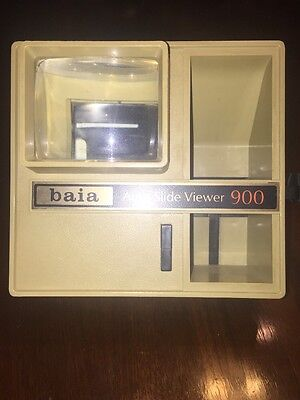 baia Auto Slide Viewer 900 2X for film slides Vintage