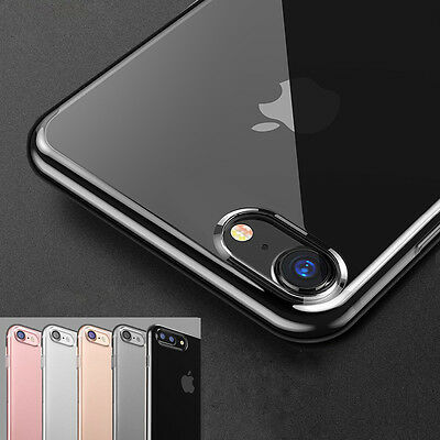 iPhone 7/ 6S Plus Clear Premium Gel Case Cover for Apple with Camera Protection