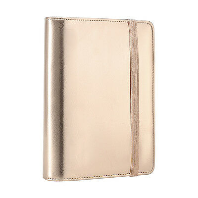 Medium Rose Gold Organizer Planner - Diary Personal Mothers Day Gift Stationary
