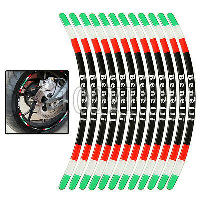 3D Rim Stripe Decal Stickers Protective For Benelli BN600 BN300 250 BJ300