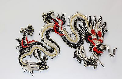 large Dragon patches applique patch motif iron on sew on