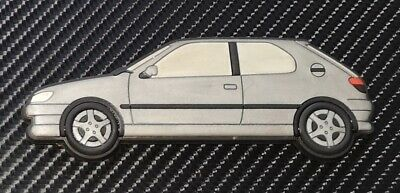 Peugeot 306 Gti 6 / S16 fridge magnets , Silver