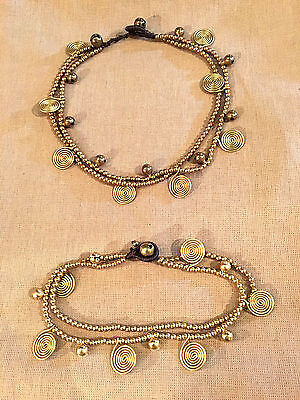 Necklace And Anklett Set.hippy Boho Design.new.beads.quality