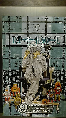 Manga Death note 9 by Ohba & Obata the artist of Hikaru no go ! Shonen jump