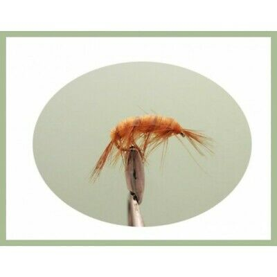 6 Shrimp Trout or Salmon Flies,Choice of sizes available, Fly Fishing Flies