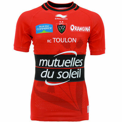 Maillot Rugby Neuf de TOULON Taille S-M-L-XL-XXL  France ref17 shirt-