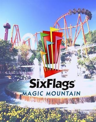 Six Flags Magic Mountain Admission Ticket - 13 And Under - Child Kid
