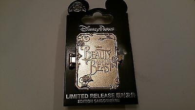 Disney Pin 2017 Beauty and the Beast Opening Day Limited Release
