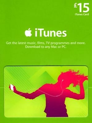 $15 Apple US iTunes Card Gift Card 100% Fast certificate Apple USA USD iTune
