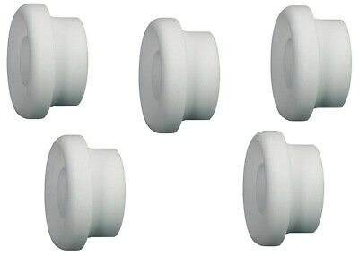 TIG 54N63 Large Gas Lens Insulator Fit TIG Welding Torch WP17, 18, 26  Pack of 5