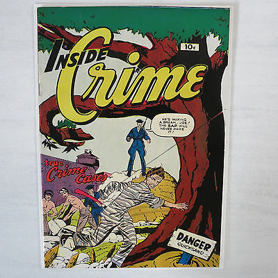 Inside Crime #2 PreCode Golden Age VF 8.0 RARE July 1950 Issue Fox Feature Synd