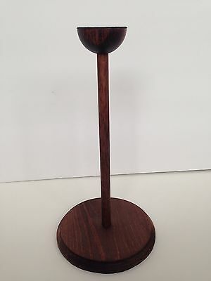 Wooden Display Stand - For Cosplay, Hats, Masks, Helmets, Etc.