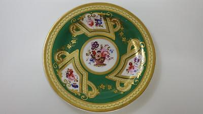 """Beautiful Early Victorian Hand Painted Cabinet Plate 8"""" Possibly Coalport c1850"""