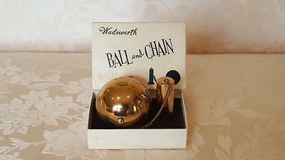 """Ball and Chain """"Compact w/ ORG. BOX !! by Wadsworth *for Collector /Item # 2"""