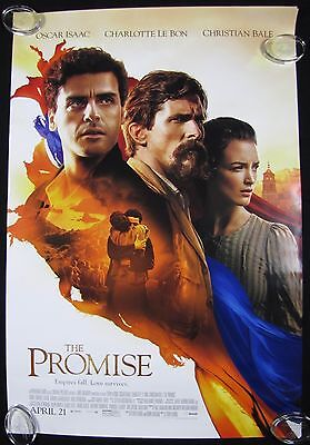 The Promise Original Theater Movie Poster One Sheet DS 27x40