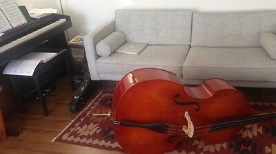 Atelier Puglisi Double Bass 3/4 RRP$2500 includes bow and bag
