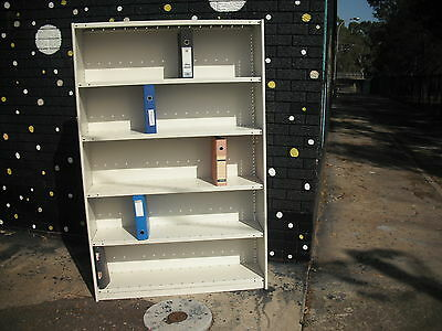 As New*clean*strong*modern*dexion*metal Steel Shelving Filing Archive Storage