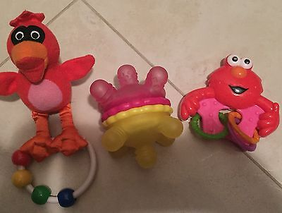 Baby Rattles: Elmo, Munchkin And Red bird Rattles