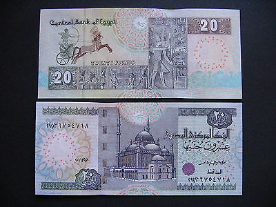 EGYPT  20 Pounds 8.2.2016  (Pnew)  UNC