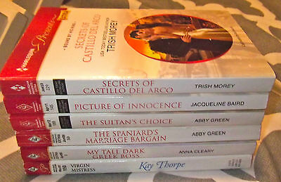 Lot Of 6 Harlequin Presents Extra / Book Club Romance Books 2001 - 2013