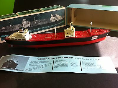 """1967 Service/Hess """"Voyager"""" Tanker Ship EXCELLENT Condition"""