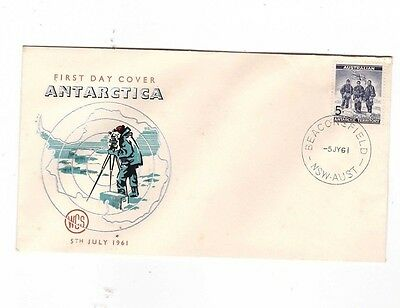 Australia 1961 5d Antarctic on WCS FDC, cds BEACONSFIELD NSW