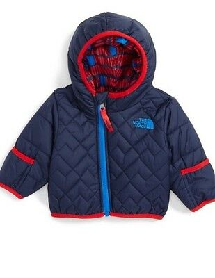 The North Face Infant Boys Perrito Reversible Jacket Cosmic Blue/red  Nwt Sizes