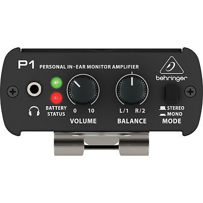New Behringer Powerplay P1 Personal In-ear Monitor Amp Buy it Now! Make Offer!