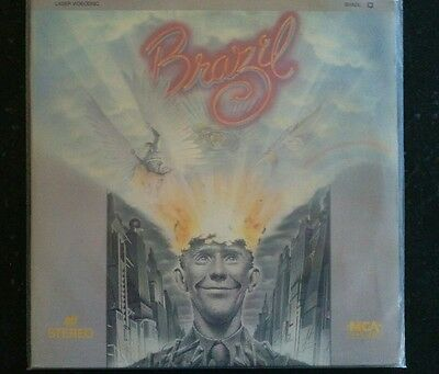 Brazil DeNiro Hoskins Gilliam Laserdisc