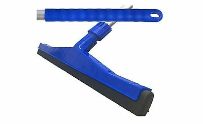 Blue Professional Hard Floor Cleaning Squeegee For Tiles, Concrete, Wood, Marble