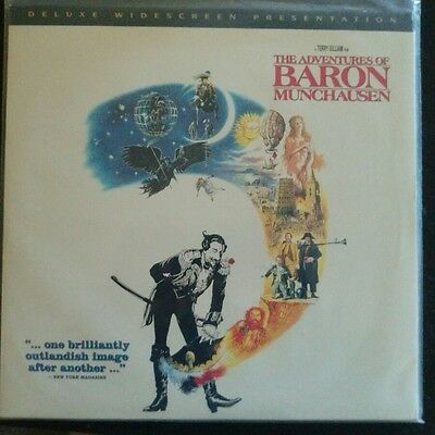 The Adventures of Baron Munchausen Widescreen Rare LaserDisc