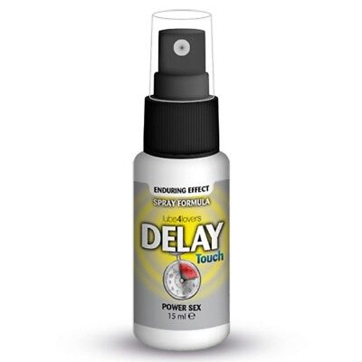 8053629691182 SPRAY RITARDANTE DELAY TOUCH 15ml sesso-uomo