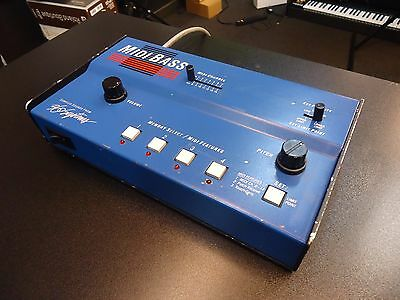 360 Systems Midi Bass / Bass Synthesizer Desktop Module