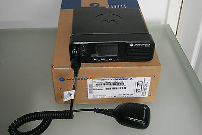 MOTOROLA DM4401e VHF commercial base station 45w radio with stand 2017 NEW model