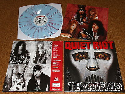 QUIET RIOT  -  Terrified   /  LP -  Splatter  -  VINYL - NOTVD -  # 350  /   NEW