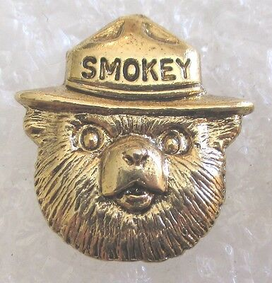 Smokey Bear US Forest Service Advertising Pin-Prevent Fires Smokey The Bear