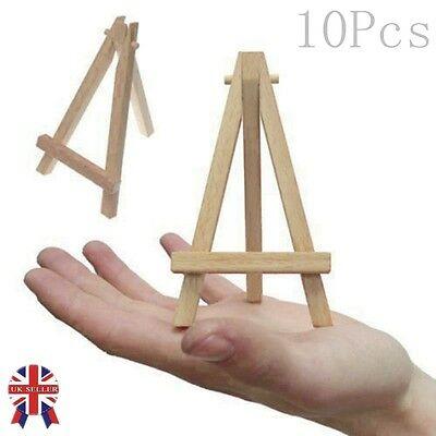 10X Mini Wooden Artist Easel For Wedding, Artwork Display, Table Settings, Craft