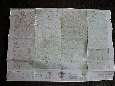 Old Yinnar South Gippsland Topographic Map Chart Victoria Book Let Australia