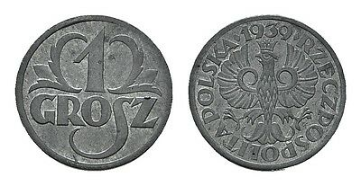 MGS GENERALGOUVERNEMENT 1 Grosz 1939 stgl