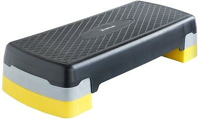 Aerobic Stepper Fitness Exercise Step Black and Yellow