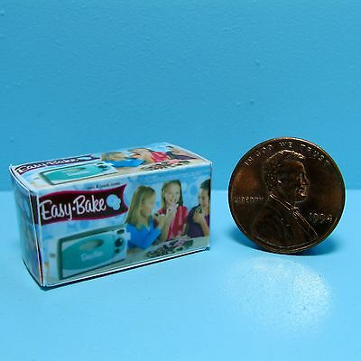 Dollhouse Miniature Replica Toy Box Easy Bake Oven ~ G031