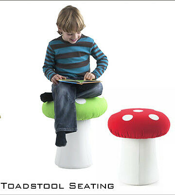 Childrens Toadstool stool seat soft seating chair
